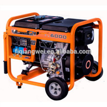 YUKUN QIANGWEI BRAND YKQW- DW6000 5KW / 5.5KW générateur de soudeuse diesel