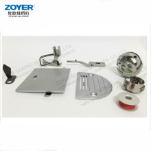 Zoyer industrial sewing machine hook needle plate feed dog spare parts