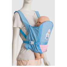 Promotional Folded blue color Baby sling