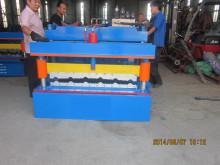 Metal Glazed Tile Roll Forming Machine