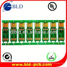 receptor satélite pcb bordo