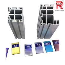 Perfis de extrusão de alumínio / alumínio para materiais de construção Agros
