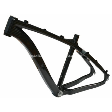 Light Weight Titanium Mountain Bike Frame