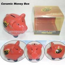 Симпатичные керамические Коробка Деньги Сильная коробка цвета ПВХ для BS11923