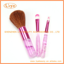 Hot Acryl benutzerdefinierte Make-up Pinsel Set Großhandel
