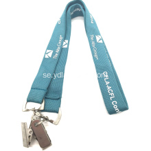 "5/8 ""Custom Printed Event Lanyards med två ändar"