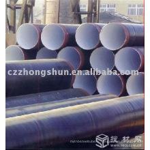 Tuyau en acier 3PE EPOXY PE WELD API 5L ASTM FLUID OIL GAS
