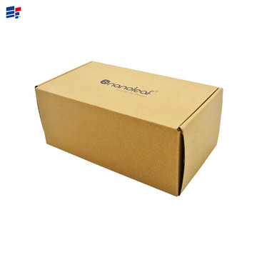 Foldable corrugated paper electronics gift box
