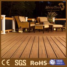 2015 nuevo grano compuesto del color de madera técnica del plástico mezclado para la cubierta interior y al aire libre