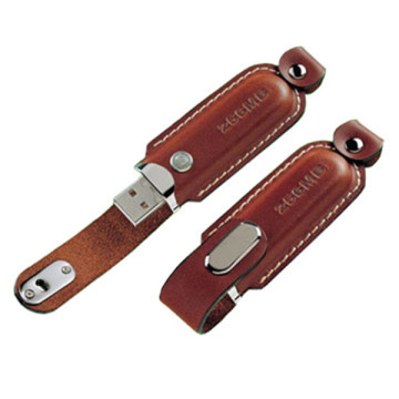 128 gb Pretty Leather Usb Flash Drive em massa