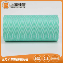 Factory Supply Best Non Woven Spunlace kitchen Printed Wave Cleaning Cloth