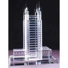 Immobilien Business Geschenk und Tisch Show Crystal Building Handwerk