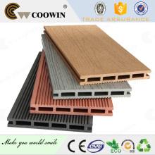 WPC decking em engenharia de pavimentação / barco deck mats / composto decking oco