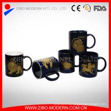 Konstellations-Steinzeug-kundenspezifische keramische Kaffeetassen Großverkauf