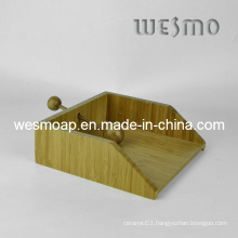 Tabletop Accessory Bamboo Paper Holder
