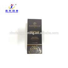 Customized Size Accept Custom Order Essential Argan Oil Packaging Box with Gold Hot Foil