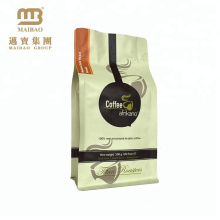 горячая продажа обжаренного кофейного зерна упаковывая