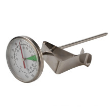 Thermometer For Milk Jug Coffee Pot with Clip