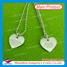 Custom Dog Tag Design Your Own Dog Tags for Heart Shaped