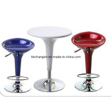 ABS Plastic Bar Table and Bar Stool Furniture