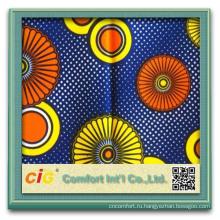2015 Мода Новый Шаблон 100% Хлопок Африканский Воск Печать Ткань