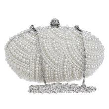 Perles de perles de soirée en soirée Sac à main en épingle Sac de mariée pour la soirée de mariage Boucles d'oreilles nuptiales B00134 dernières bourses d'embrayage