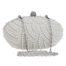 Beads Pearl Women's Evening Dinner Clutch Bag Bride Bag For Wedding Evening Party Bridal HandBags B00134 latest clutch purses