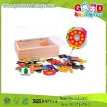 Новые детские игрушки Холодильник Магнитные деревянные игрушки