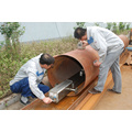 250KV X Ray Pipeline Crawler Inspection