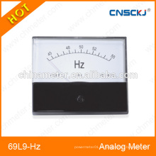 Freqüência de frequência analógica 69L9-Hz 65 * 80mm tamanho do painel