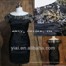 RSE42 Mãe da noiva Evening Sequins Beaded Dresses