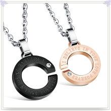 Joyería de acero inoxidable joyería de moda colgante collar de moda (nk728)