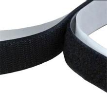 Diferentes tamanhos adesivo em forma de gancho de velcro e fita adesiva