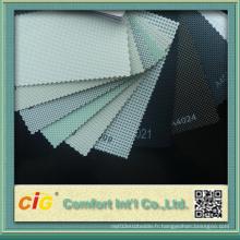 Tissu de protection solaire en PVC