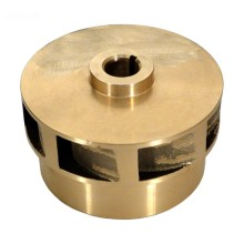 Custom 5-paksi CNC Brass Turbo Impeller