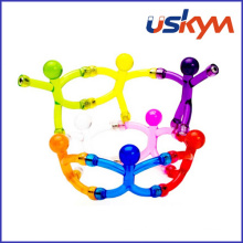 Bendable magnético brinquedo / DIY Q-Man Mini ímãs flexíveis
