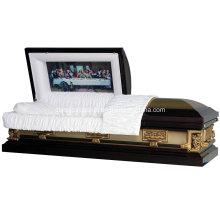 Cercueil de métal USA 18 Ga Pieta en acier