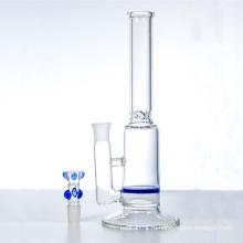 Одноместный синий сотовый воды Кальян стеклянный дым водопровод (ES-GB-321)