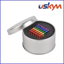 Farben Magnetisches Neocube Set (T-007)