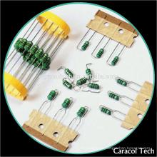 Inductor de encargo de las bobinas del círculo del color AL0204 15uH con RoHS