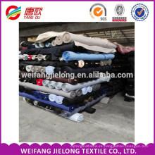 CVC twill plainTC Twill 65/35 21 * 21/108 * 58 200CM Tejido uniforme de tela TC TC twill precio de fábrica