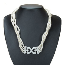 Four Strands Pearl Necklace
