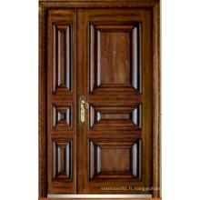 Porte blindée en bois d'acier de style turc (LTK-D323-D)