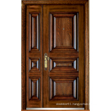 Turkish Style Steel Wooden Armored Door (LTK-D323-D)