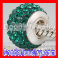 Authentic European Swarovski Crystal Beads Charms With 925 Sterling Silver Stamped