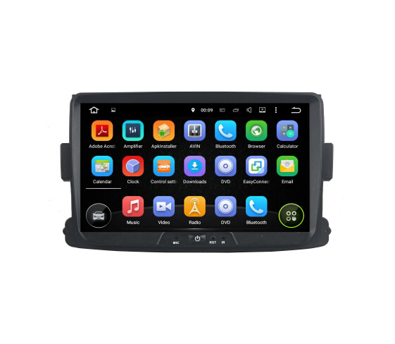 8 Inch Renault Duster  2014-2016 Deckless  Car GPS