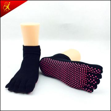 High Quality Cotton 5 Toe Yoga Socks