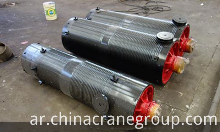 Crane rope drum for sturdy crane-LT CRANE