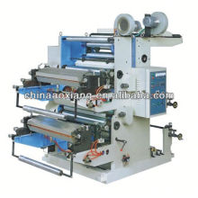 YT-2600 Two Colors Plastic film roll to roll sticker label printing machine
