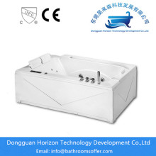 Factory best selling for Square Bathtub Luxury freestanding whirlpool bathtubs supply to Japan Exporter